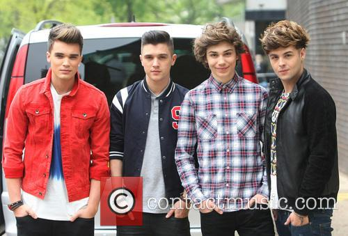Josh Cuthbert, Jj Hamblett, George Shelley, Jaymi Hensley and Union J 2