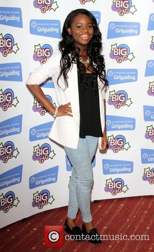 ame aminata kabba girlguiding uk big gig 2013 3697993