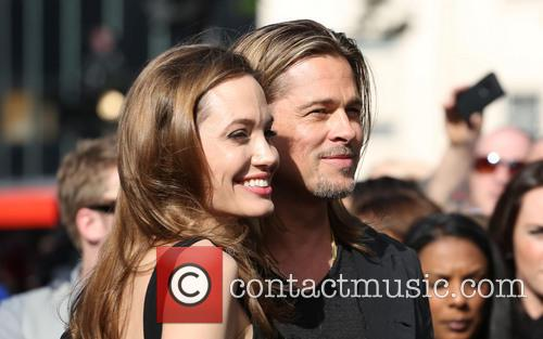 Brad Pitt and Angelina Jolie 4