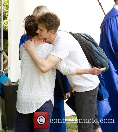 Andrew Garfield and Sally Field 2