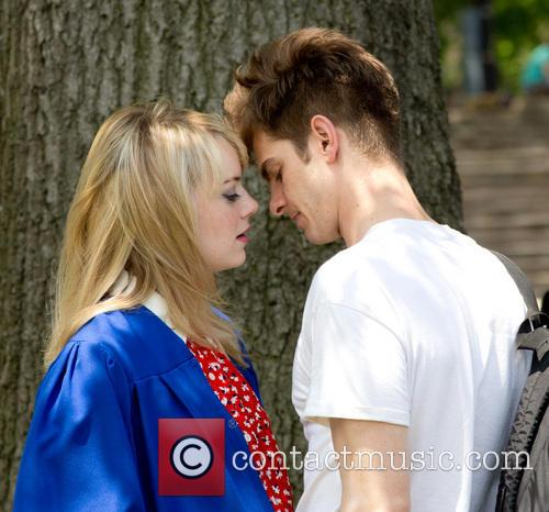 Emma Stone and Andrew Garfield 11