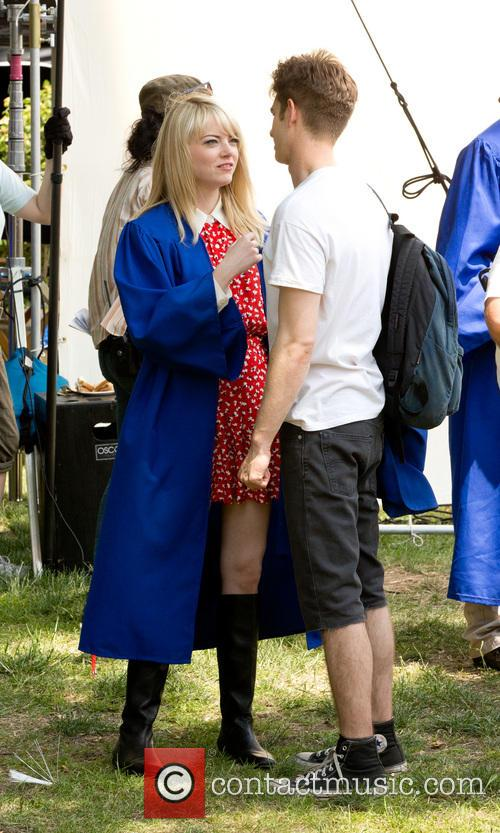 Emma Stone and Andrew Garfield 13
