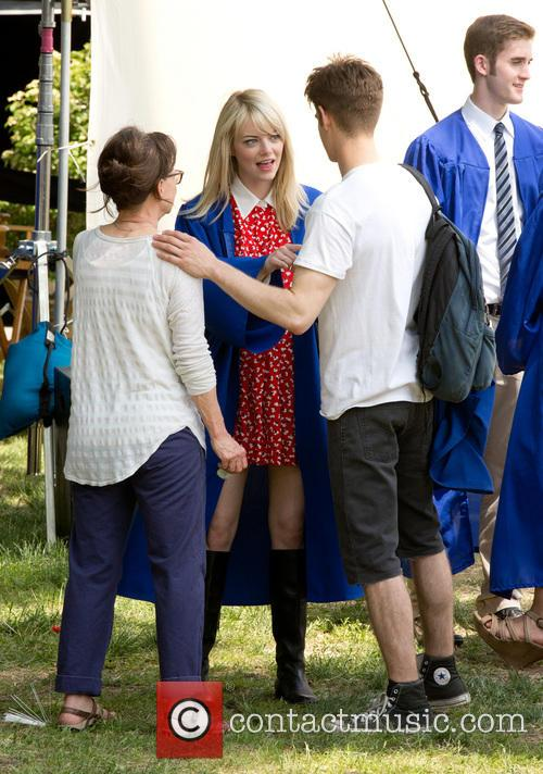 Emma Stone, Andrew Garfield and Sally Field 11