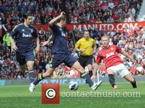 Real Madrid, Paul Scholes and Ivan Helguera