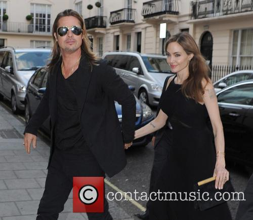 Brad Pitt and Angelina Jolie 6