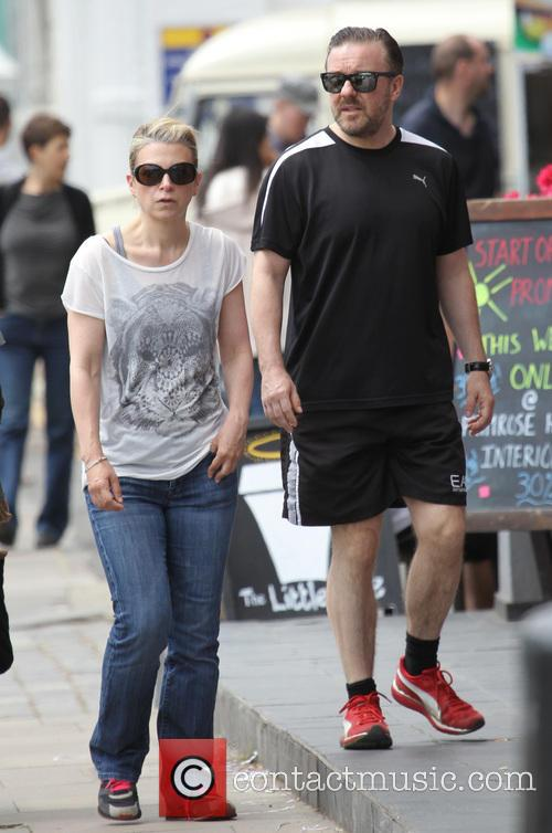 Ricky Gervais and Jane Fallon 15