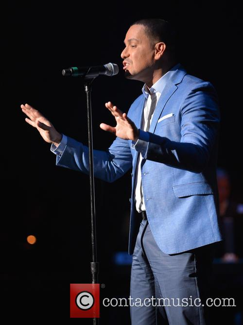 Victor Manuelle performs live at The Fillmore Miami...