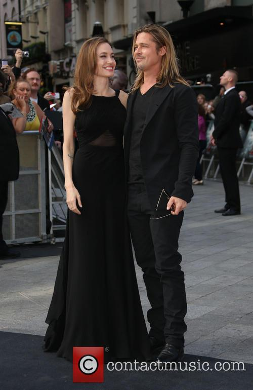 Brad Pitt and Angelina Jolie 13