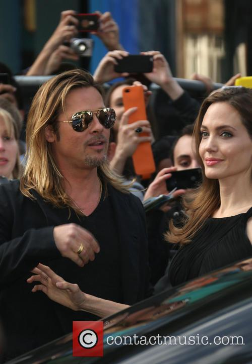 Brad Pitt and Angelina Jolie 16