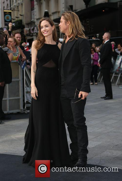 Brad Pitt and Angelina Jolie 19