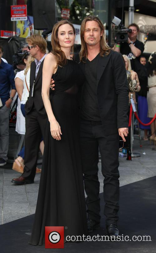 Brad Pitt and Angelina Jolie 24