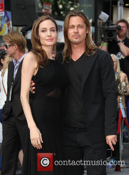 Brad Pitt and Angelina Jolie 26