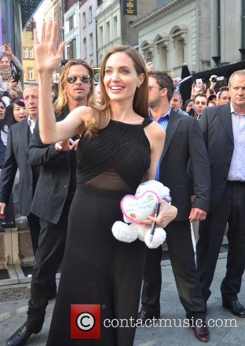 Angelina Jolie and Brad Pitt 4