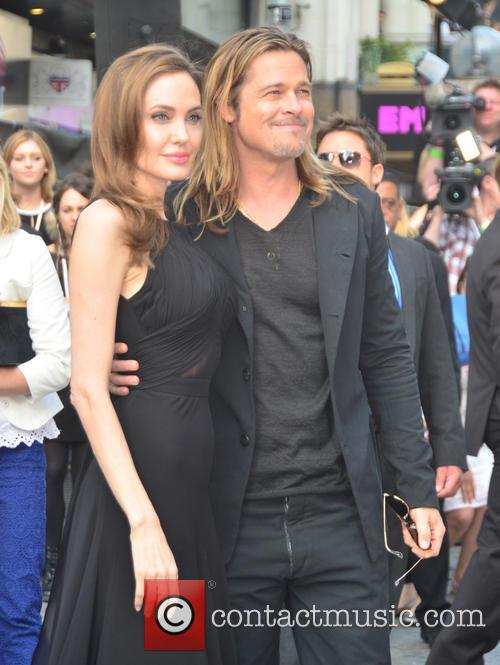 Angelina Jolie and Brad Pitt 6