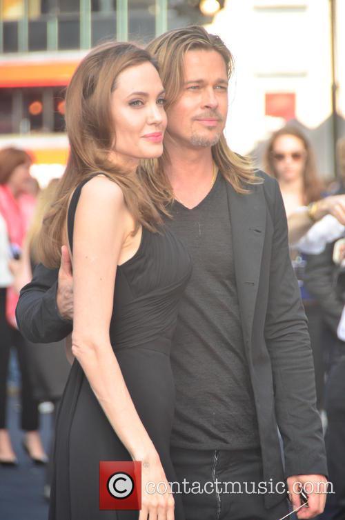 Angelina Jolie and Brad Pitt 11