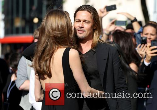 Brad Pitt and Angelina Jolie 35