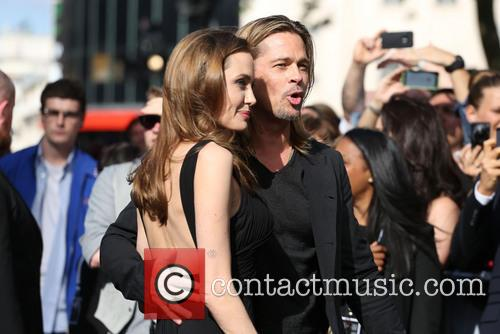 Brad Pitt and Angelina Jolie 37