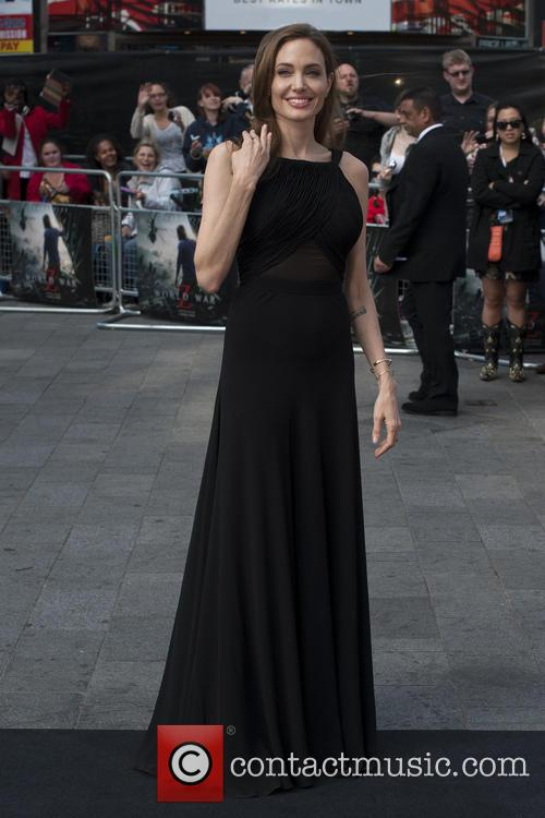angelina jolie world war z uk premiere 3699592