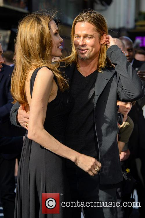 Brad Pitt and Angelina Jolie 44
