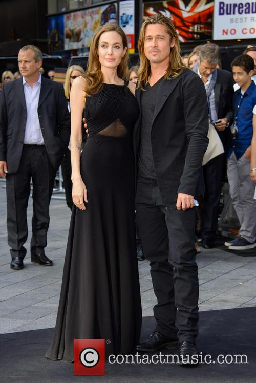 Brad Pitt and Angelina Jolie 46