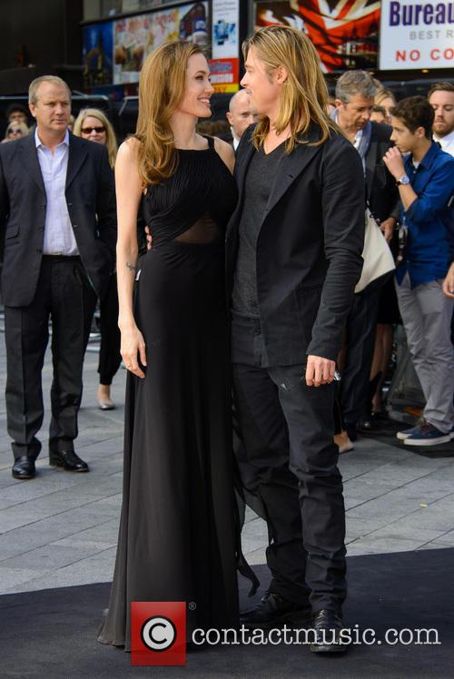 Brad Pitt and Angelina Jolie 50