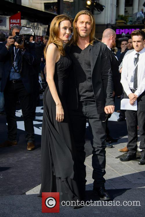brad pitt angelina jolie world war z uk 3699643