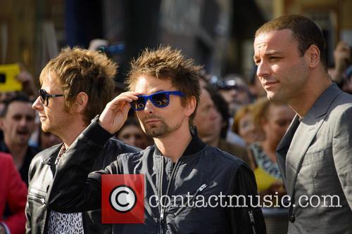 Dominic Howard, Matthew Bellamy, Chris Wolstenholme and Muse 5