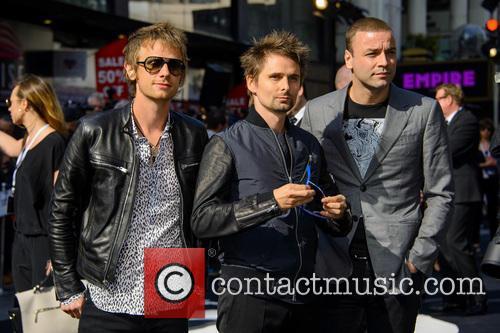 Dominic Howard, Matthew Bellamy, Chris Wolstenholme and Muse 6