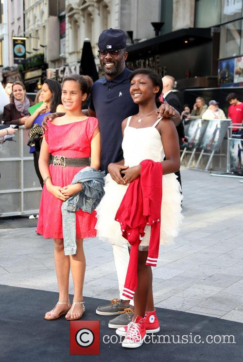 Idris Elba and Daughters