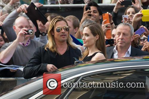 Brad Pitt and Angelina Jolie 62