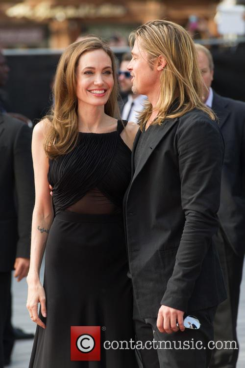Brad Pitt and Angelina Jolie 69