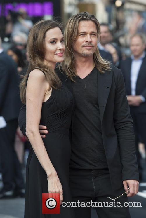 Brad Pitt and Angelina Jolie 58