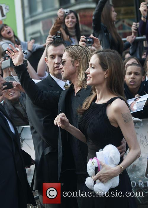 Brad Pitt and Angelina Jolie 75