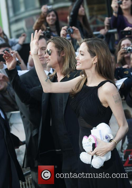Brad Pitt and Angelina Jolie 83