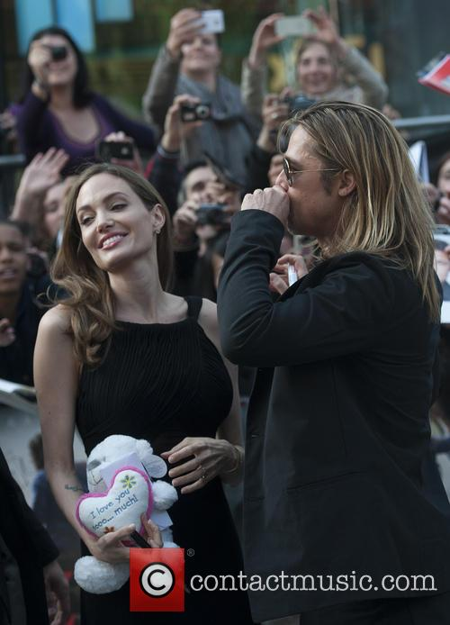 Brad Pitt and Angelina Jolie 90