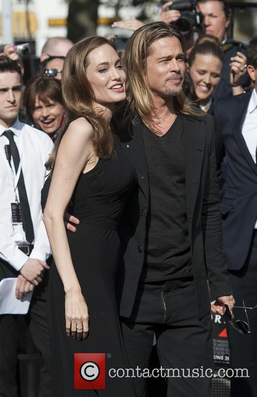 Brad Pitt and Angelina Jolie 94