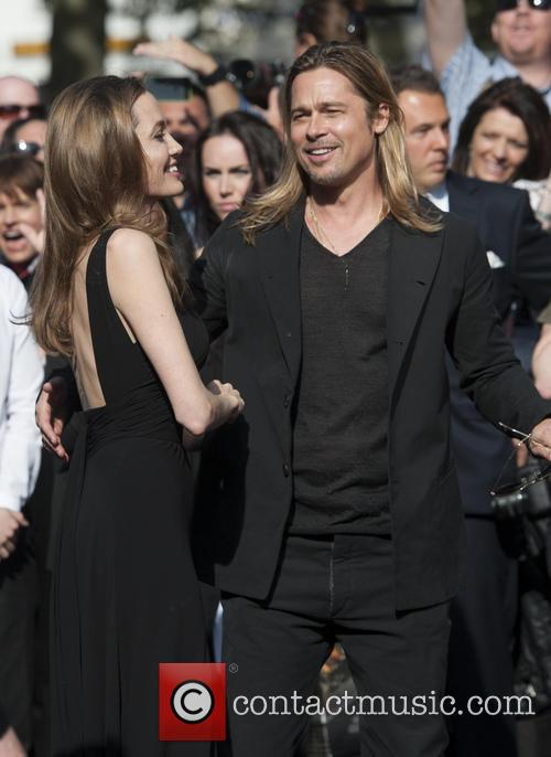 Brad Pitt and Angelina Jolie 97
