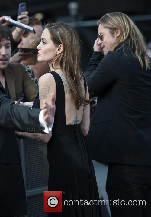 Brad Pitt and Angelina Jolie 100