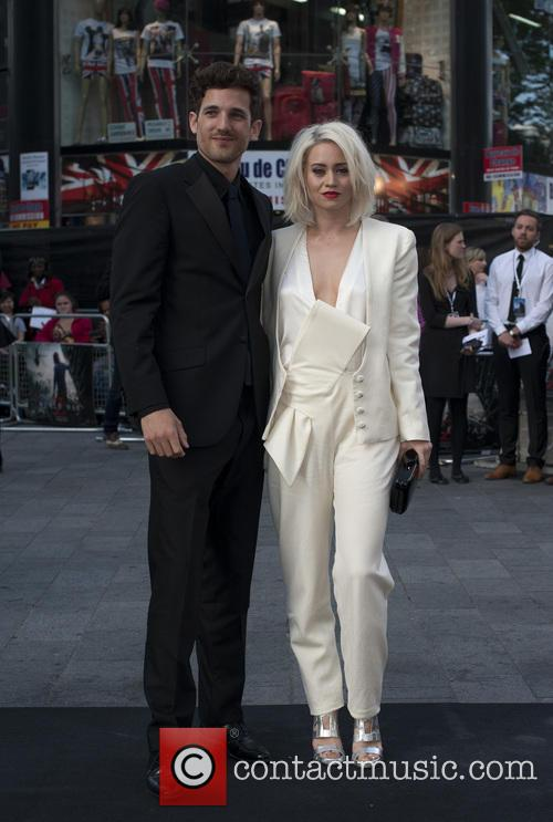kimberly wyatt max rogers uk film premiere of 3700040