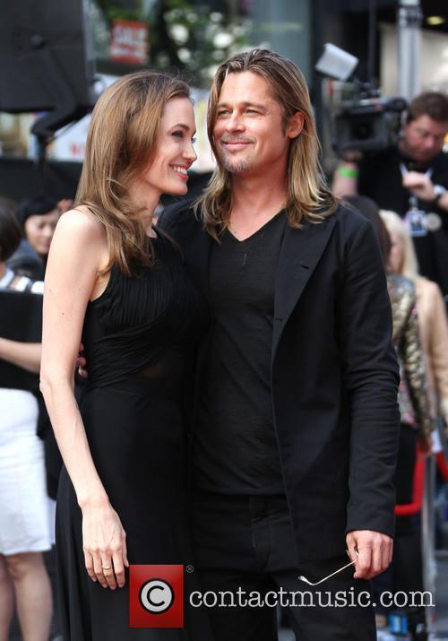 Angelina Jolie Brad Pitt WWZ