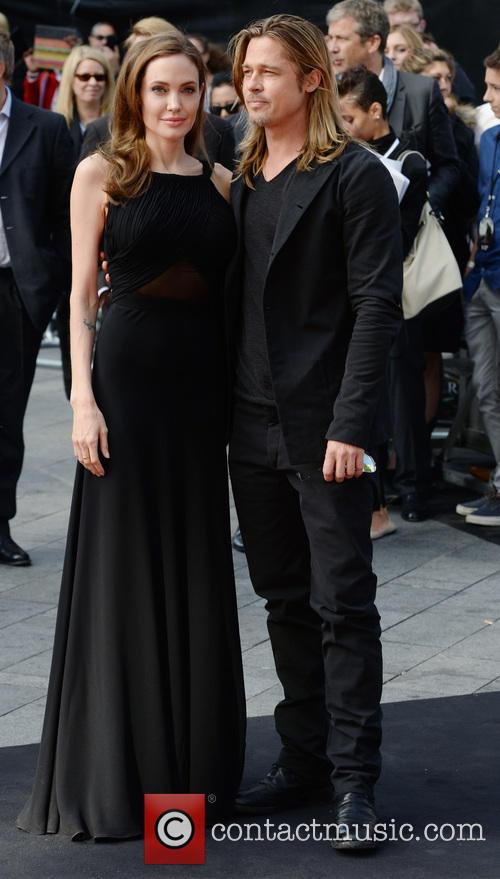 angelina jolie brad pitt uk film premiere of 3699754