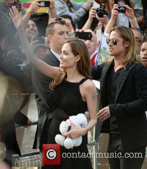 Angelina Jolie, Brad Pitt, Empire Leicester Square