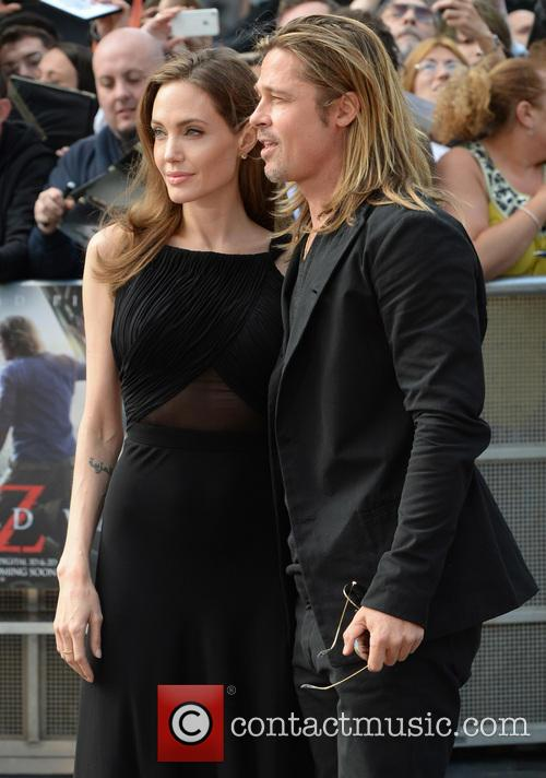 angelina jolie brad pitt uk film premiere of 3699765