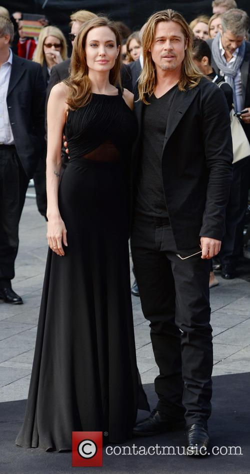 Angelina Jolie and Brad Pitt 33
