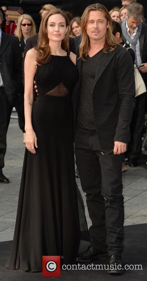 Angelina Jolie and Brad Pitt 34