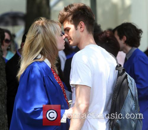 Garfield, Peter Parker, Emma Stone, Gwen Stacy and Spiderman 5