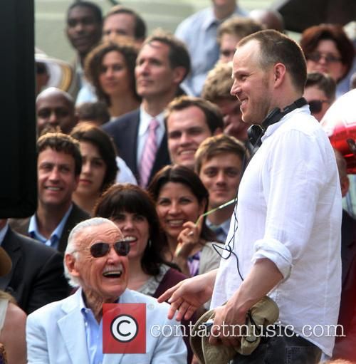 Stan Lee and Marc Webb 3