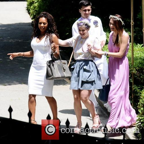 Melanie Brown and Kelly Osbourne 9