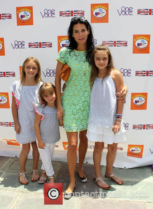 Angie Harmon and Daughters 7