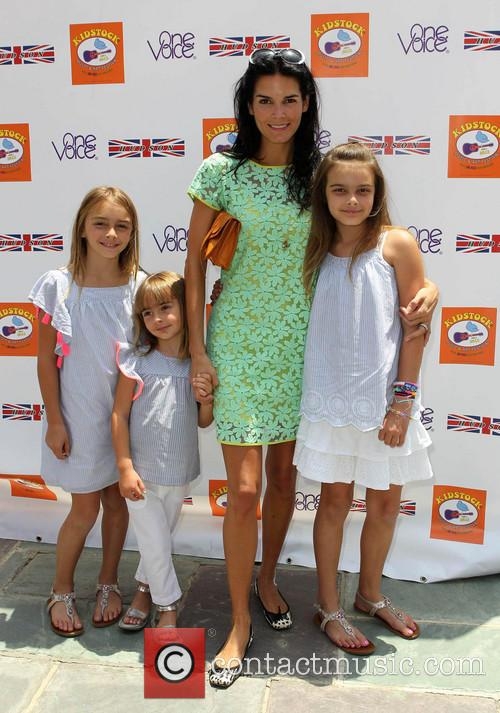 Angie Harmon and Daughters 10